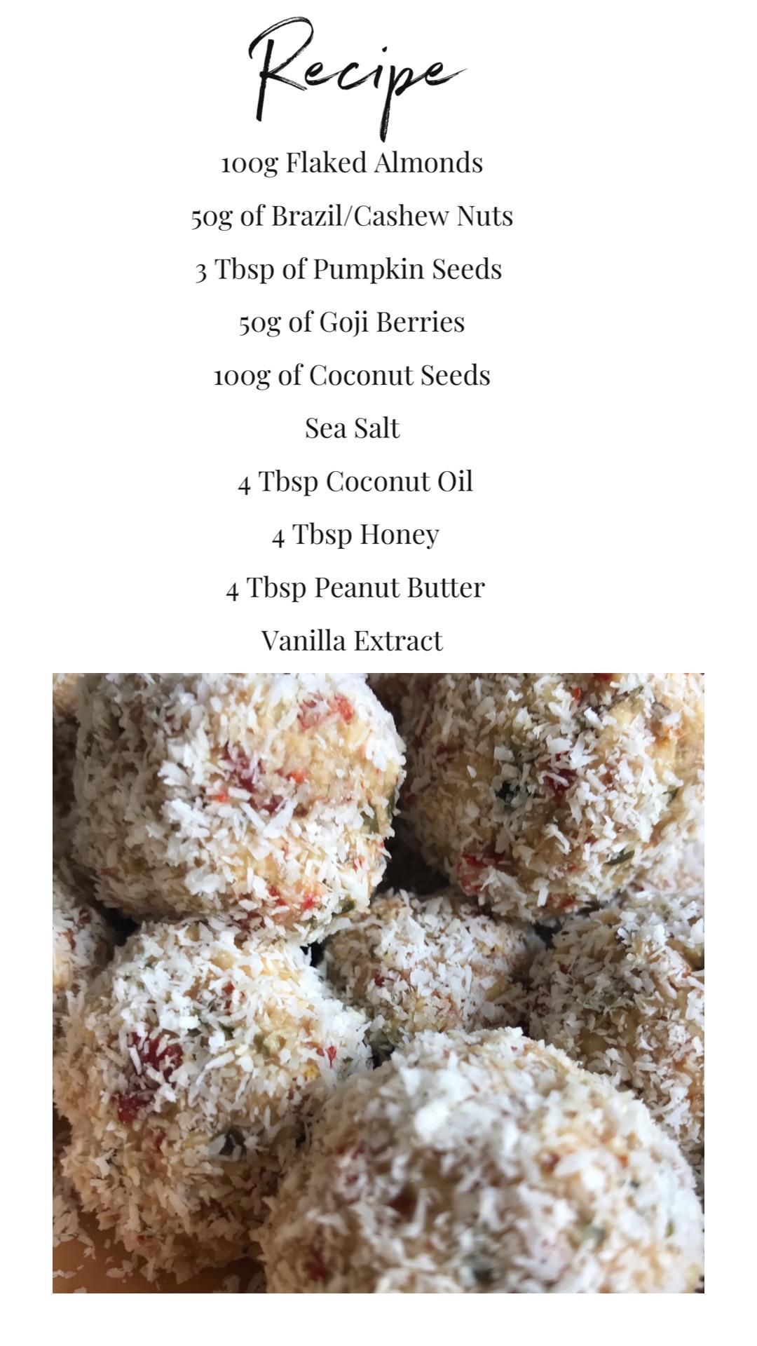 Energy Bites Recipe